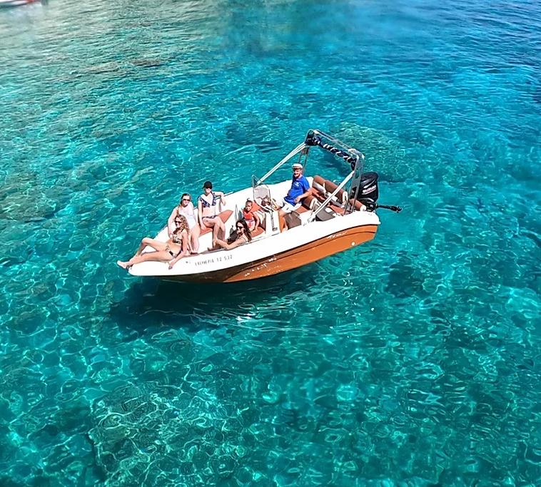 speedboat rentals in zante