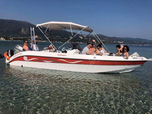 Rent a boat in Zakynthos