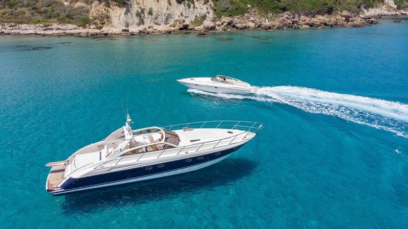 Charter a Yacht in Zante