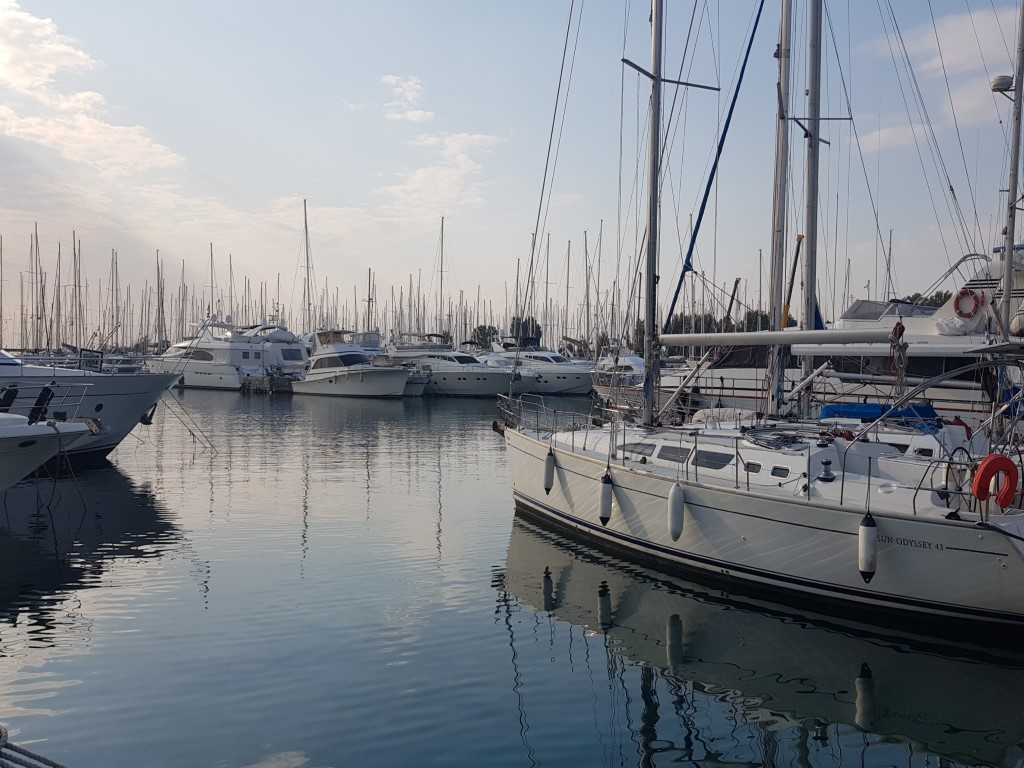 Sailing in Zakynthos